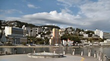 A View of Atami, Japan; a Seaside, Hot Springs Resort Area